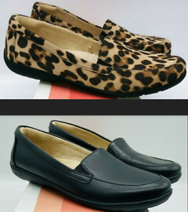 Soul Naturalizer Women's Slip On Loafers - Black or Cheetah Print - Pick Size