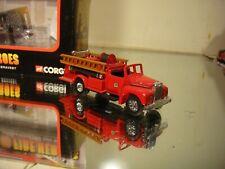 Mac B Open Pumper & GMC Fire Pumper from the Corgi Fire Heroes series