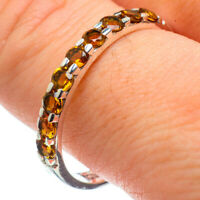 Citrine 925 Sterling Silver Ring Size 10.75 Ana Co Jewelry R29105F