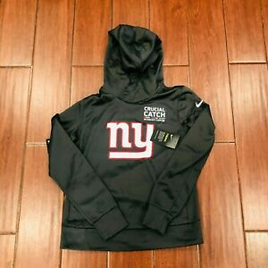 Nike NY Giants NFL Crucial Catch Intercept Cancer Hoodie Women's Small S