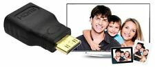 ADAPTADOR CONVERTIDOR MINI HDMI (M) A HDMI (H) PARA TV AV VIDEO AUDIO - NEGRO