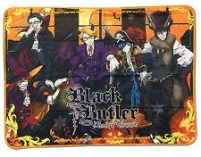 """Great Eastern GE-57688 Black Butler Book of Circus Grim Reaper 60"""" Throw Blanket"""