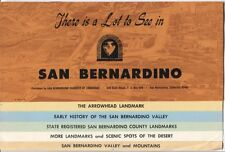 There Is a Lot to See in San Bernardino - 1968 Tourist Brochure