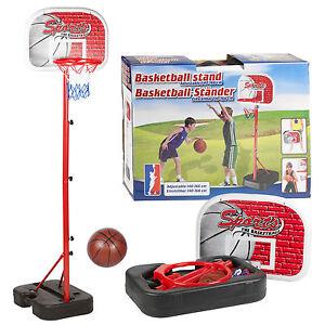 NEW PORTABLE KIDS BASKETBALL NET HOOP BACKBOARD BALL AND PUMP INCLUDED