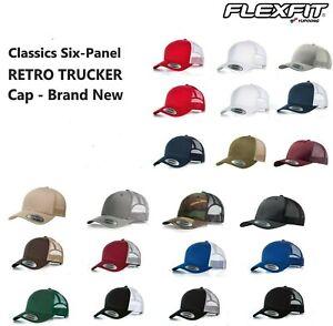 Yupoong Retro Trucker Hat & 2-Tone Snapback Baseball Cap by Flexfit, 6606