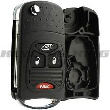 Replacement Remote Flip Key Fob Entry Shell Pad Case 4b for Jeep Dodge Chrysler