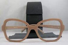 Prada VPR 25S UFF-1O1 Square Matte Pink New Authentic Eyeglasses 51mm w/Case