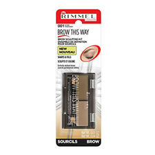 NEW Rimmel Brow This Way Sculpting Kit Blonde 0.04 Ounces
