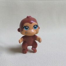 POLLY POCKET - SPARKLIN' PETS MATTEL #BEBE SINGE MARRON YEUX BLEU