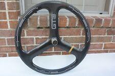 Rear HED 3/GT3 Trispoke Carbon Wheel Tubular Shimano/Sram 10/11 Speed