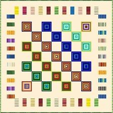 """ELECTRIC BOOGALOO - 70.5"""" - Quilt-Addicts Pre-cut Patchwork Quilt Kit Double"""