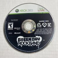 Green Day: Rock Band (Microsoft Xbox 360, 2010) Disc Only Video Game Free Ship