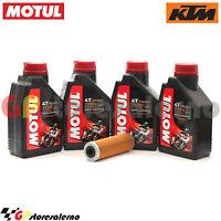KIT TAGLIANDO OLIO + FILTRO MOTUL 7100 10W60 4L KTM 1290 SUPER ADVENTURE 2016