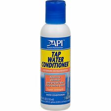 API Tap Water Conditioner 118ml Dechlorinator for Aquarium Removes Chlorine