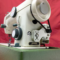 JANOME vintage Japan Heavy Duty Zig Zag Sewing Machine Serviced by 3FTERS