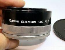"Canon Macro extension tube FD 25 ""U"" for AE-1 cameras"