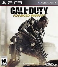 Call of Duty Advanced Warfare GAME Sony PlayStation 3 PS PS3 COD AW CODAW