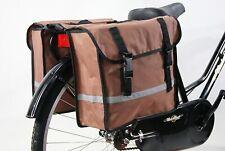 Borse Simil Cuo Borsa doppia per bici stile bisaccia per portapacchi posteriore
