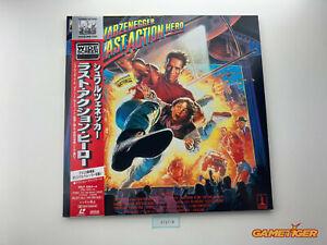 LAST ACTION HERO Arnorld Schwarzenegger Laserdisc LD JAPAN Ref:315718