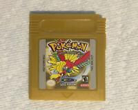 Pokemon Gold Version (Game Boy Color, 2000) Reproduction