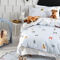 Dogs For Days Quilt | Doona Duvet Cover Set | For Pooch-obsessed youngsters