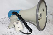 MONACOR TM27 Loud hailer-megaphone 25W HAND HELD microphone-carry Cinturino