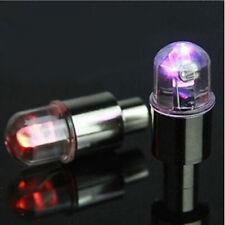 4Pcs Universal Colorful LED Wheel Tire Tyre Air Valve Stem Lamp Bulb Cap Light