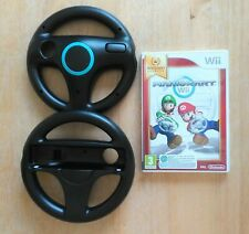 Mario Kart with 2x 3rd Party Wheels (Nintendo Wii, 2008)