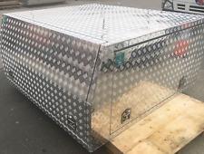 Aluminum Dual Cab Ute Canopy (Pre-made)
