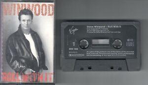 Steve Winwood      MC / Tape / Kassette   Roll with it     © 1988