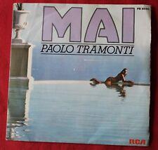 Paolo Tramonti, mai / prendo il volo, SP - 45 tours