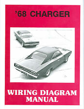 1968  68  DODGE CHARGER /RT  WIRING MANUAL