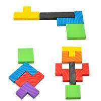 Unisex Kids Toy Wooden Board Hot Sale Convenient Lightweight IQ Imagination LR