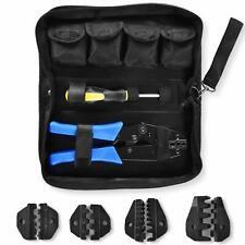 Amzdeal Crimping Tool Kit Ratchet Terminal Crimper Tool 20-2 Awg 5