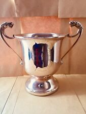 Lovely Vintage Antique Shabby Chic Silver Darts Trophy Cup #101 with Free UK P&P