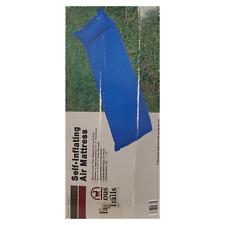 "Famous Trails Self Inflating Air Mattress (20"" x 72"") Blue G7141"