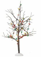 Department 56 Village Lighted Christmas Bare Branch Tree Figurine 56.53193 New
