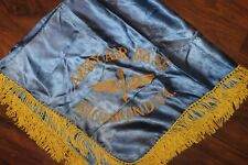 """Original WW2 U.S. Army Air Forces Richmond, VA Square Table Cover, 33"""" by 33"""""""