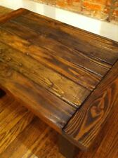 Handmade Coffee Table, Color: dark Walnut, finished with marine polyurethane
