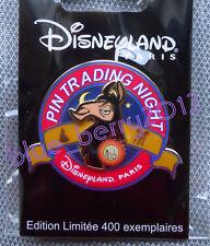 DLP Pin Trading Night KUZCO Disney land Paris PTN event day DLRP LE 400 yzma
