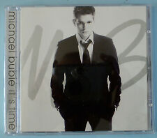 MICHAEL BUBLE - IT`S TIME - 13 TRACK CD  IN V.G.C.  2005 US VERSION