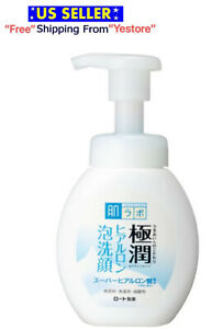 Rohto HadaLabo Gokujyun Hyaluronic Acid Face wash Cleansing Foam Cleanser 160ml