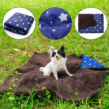 Dog Cat Puppy Pet Plush Blanket Mat Thick Soft Warm Sleep Bed Mat Cushion Large