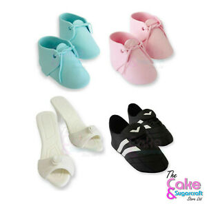 Edible Booties, Shoes, Football Boots Cake Decoration Topper Free Post