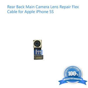 Rear Back Main Camera Lens Repair Flex  Cable for Apple iPhone 5S