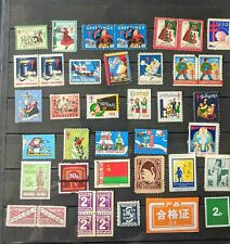 CINDERELLA  STAMPS (30+ different) many Christmas 1931-72