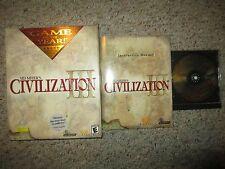 Sid Meier's Civilization III: Game of the Year Edition (PC, 2002) 3 GOTY CIB