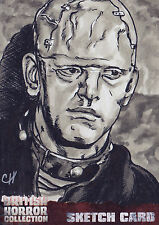 British Horror Collection Sketch Card SK1 By Chris Henderson