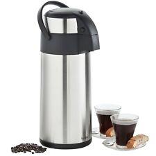 VonShef 5L Tea Urn Airpot Coffee Flask Pump Drinks Dispenser Office Insulated
