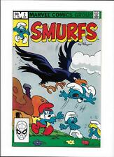 "SMURFS #2 [1982 NM-] ""THE SMURFS & THE EVIL BIRD"""